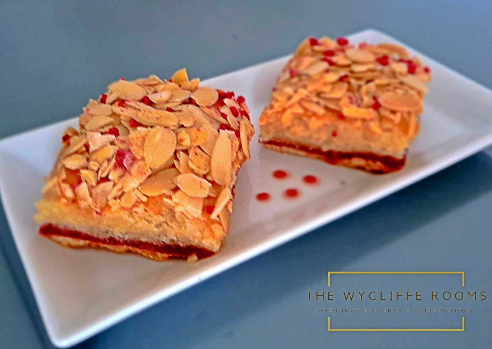 Cherry and Almond Bakewell