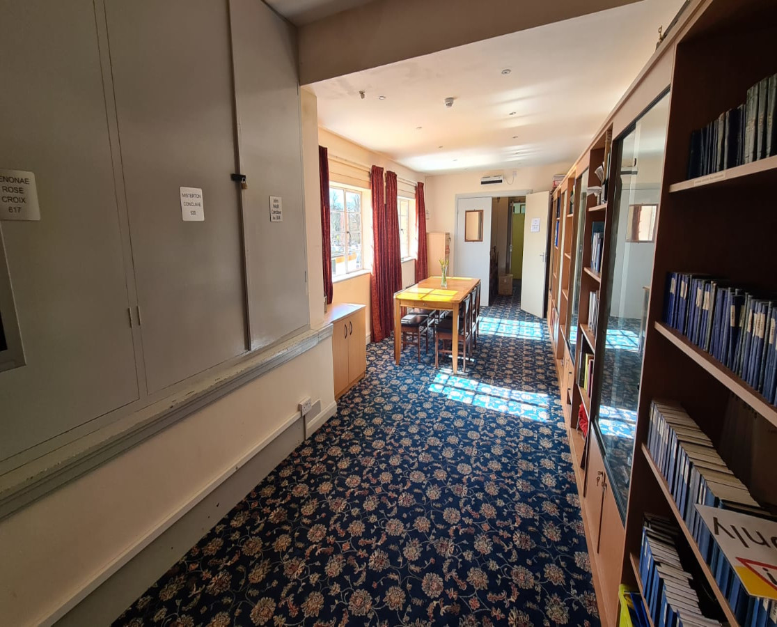 Venue Hire - Inside the Library