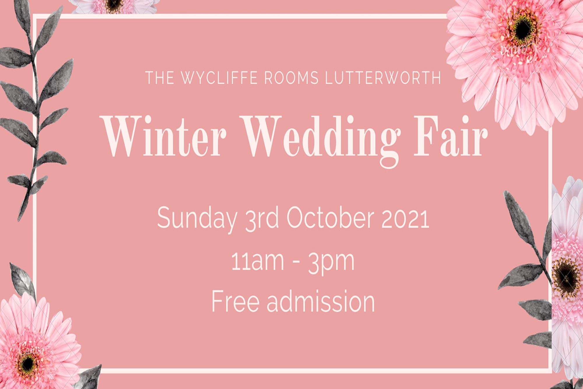 Our Winter Wedding Fair At The Wycliffe