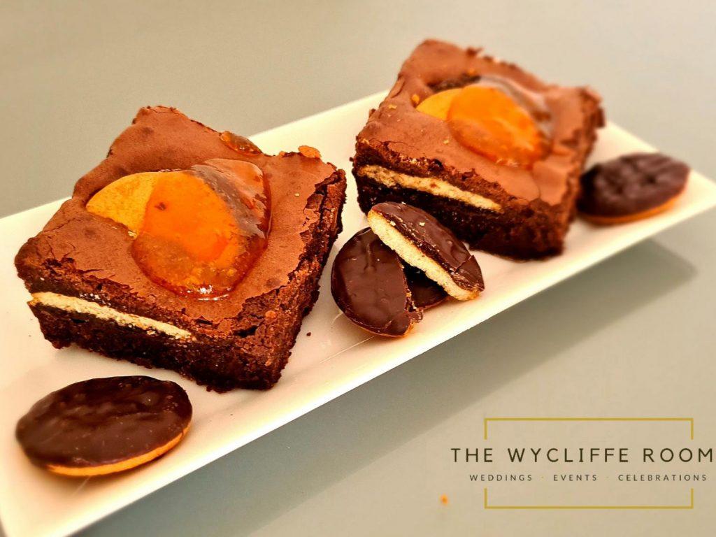 Jaffa Cake Brownie
